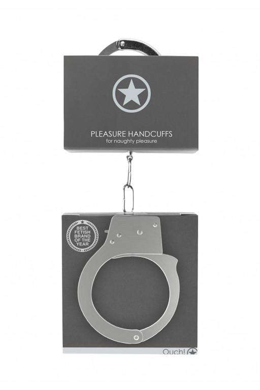 Металлические наручники Pleasure Handcuffs