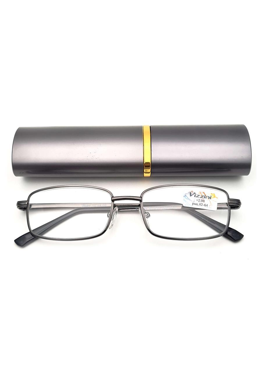 Готовые очки для зрения с диоптриями от +0.50 до +4.00 (серые)