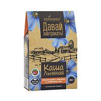 Каша льняная Polezzno Шоколадная с изюмом и семенами чиа, 300 г (срок до 05.08.21)
