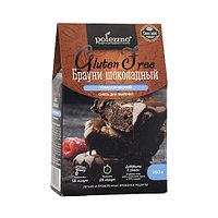 Смесь для выпечки Polezzno Брауни шоколадный, без глютена, 250 г (срок до 12.08.21)