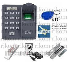 Система контроля доступа по отпечатку пальца