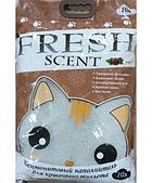 Комкующийся наполнитель Fresh Scent для туалета кошек (Кофе) - 10 л