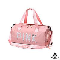 Спортивная сумка pink розовая