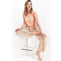Пижама женская M / 44-46, Оранжевый