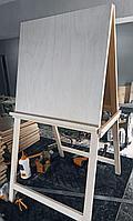 Мольберт модель «Хлопушка», односторонняя 1200 х 500 х 550 мм, планшет 500 х 500