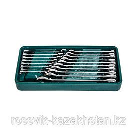 Набор инструмента ROSSVIK (ключи комбинированные), ложемент, 18 предметов. LST018