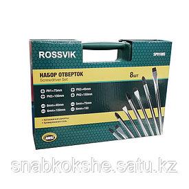 Набор отверток ROSSVIK 8шт. SP0108S