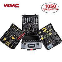"""Меганабор слесарно-монтажного инструмента из 1050 предметов в чемодане на колесах WinTools {1/4"""", 1/2"""", DR"""