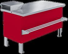 Прилавок холодильный среднетемпературный «Мясной» ПХС-1,25/0,85 (встроенное холодоснабжение)