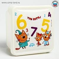Ланч-бокс, контейнер детский ТРИ КОТА «Обучайка», 450 мл
