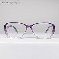 Очки корригирующие 1319, цвет серый, -1