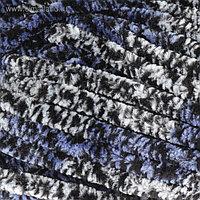 """Пряжа """"Dolphin animal colors"""" 100% полиэстер 90м/100гр (83113 серо-сине-черный)"""