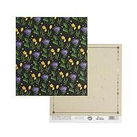 Бумага для скрапбукинга «Волшебное поле», 15.5 × 17 см, 180 г/м