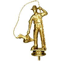 Награда -Рыболовство, h- 14см, пластик