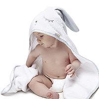 Полотенце детское 95х95см Лапушка Серая (Perina, Беларусь)
