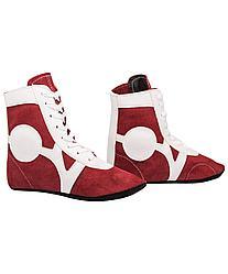 Обувь для самбо , замша, красный Rusco