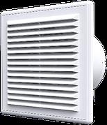 Вентилятор осевой с антимоскитной сеткой и обратным клапаном C 4S C d100 Эра