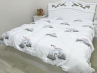 Одеяло зимний 2сп  Аққу, фото 4