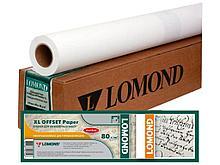 """Бумага для плоттера Lomond """"36"""" (914 мм х 45 мм х 50 мм) 80 г/м2"""
