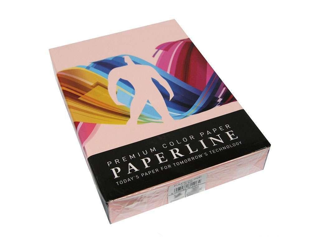 """Бумага цветная PAPERLINE """"Rose 140"""" А4, 80 г/м2, 500л."""