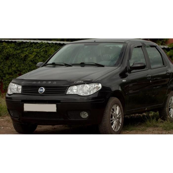 Дефлектор капота Fiat Albea (2007-2012)