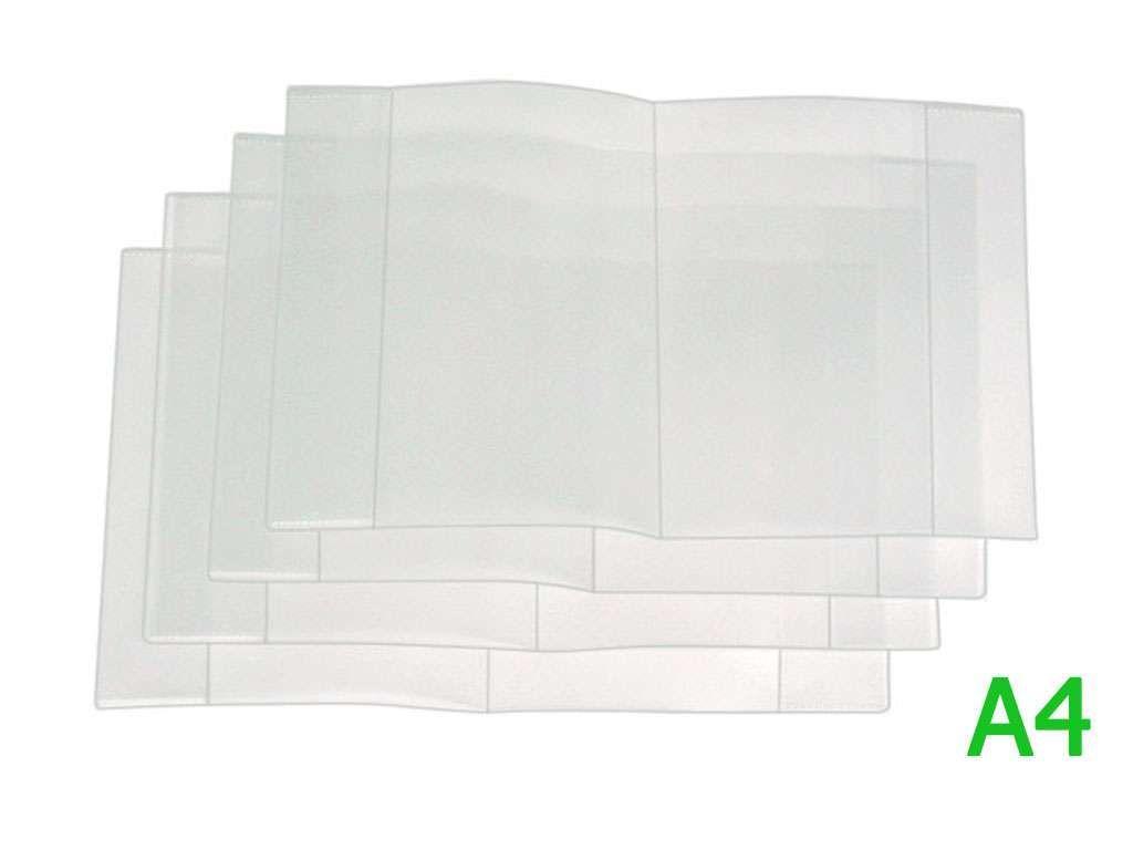 Обложка для тетрадей А4, прозрачная