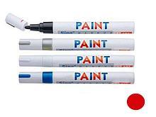 "Маркер-краска лаковый ""PAINT"", 1,5-3 мм, красный"