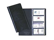 """Визитница DURABLE на 96 визиток, 253 х 115 мм, PVC """"под кожу"""" черный"""