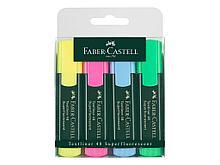"""Набор текстовыделителей  Faber-Castell """"1548"""", 4 цвета, 1 - 5 мм"""