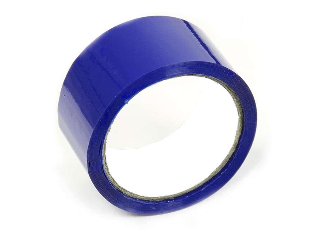 Клейкая лента упаковочная 48 мм х 50 м, синяя