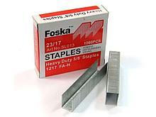 Скобы Foska для степлера e2849623/17, 1000 шт/кор