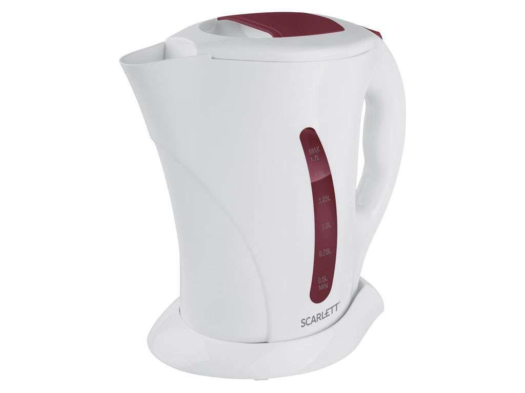 Чайник электрический SCARLETT SC-EK14E08 белый