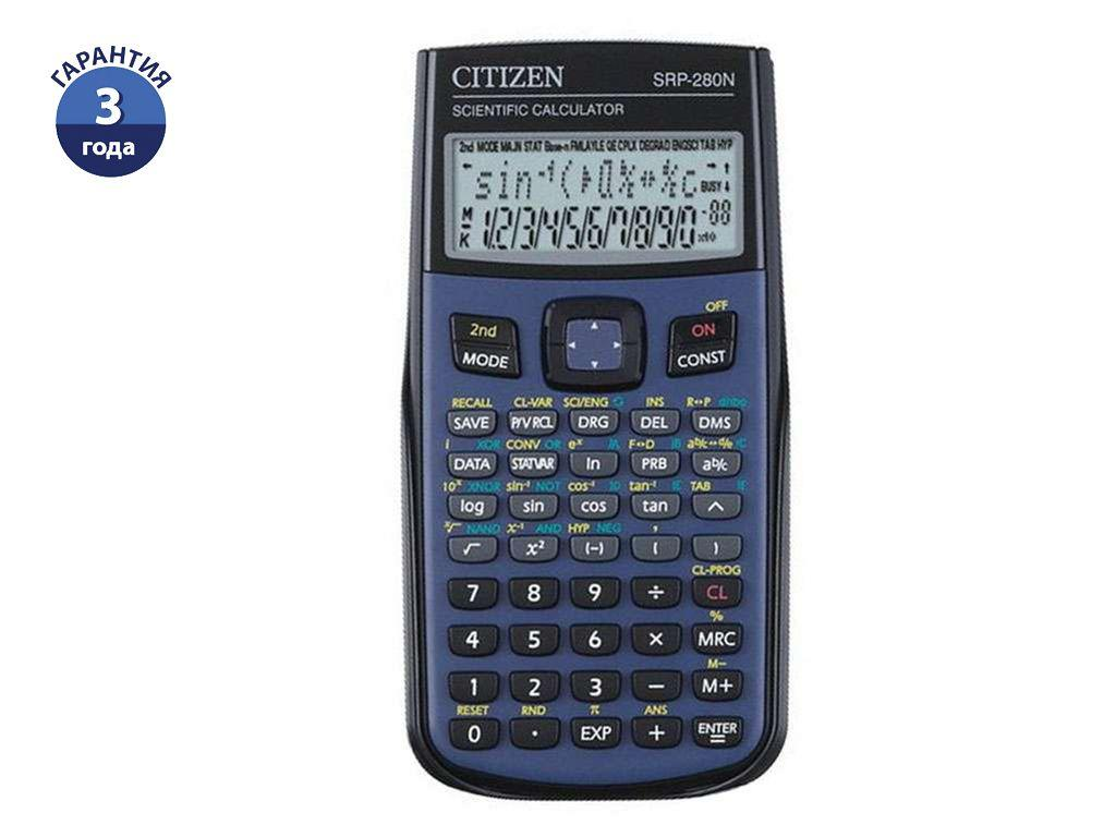 "Калькулятор научный CITIZEN ""SRP-280N"" 10+2 разрядов, 455 функций"