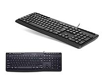 Клавиатура Delux DLK-06UB черная, USB, Анг/Рус/Каз