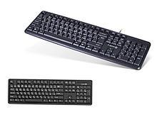 Клавиатура X-Game XK-100PB черная, PS/2, Анг/Рус/Каз