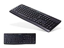 Клавиатура беспроводная Delux DLK-06GB черная, Анг/Рус/Каз