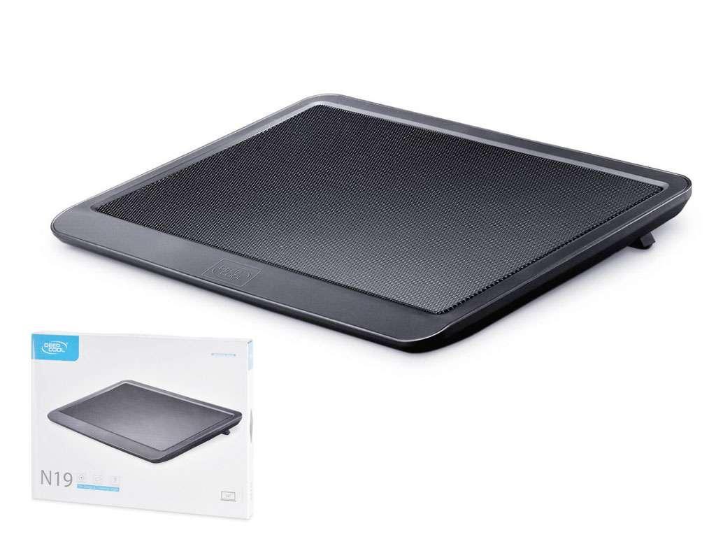 """Охлаждающая подставка для ноутбука 14"""" Deepcool N19 черная"""