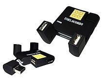Кардридер All in 1 + расширитель USB 2.0 Combo черный
