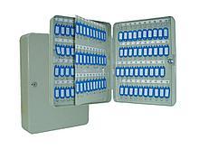 Шкафчик ProfiOffice на 140 ключей, 370x280x80мм, серый