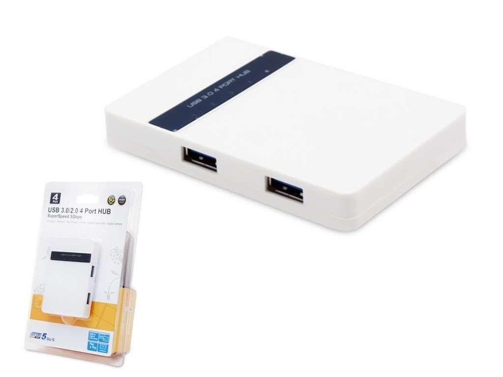 Расширитель USB 3.0 на 4 Порта EV-HUB3001
