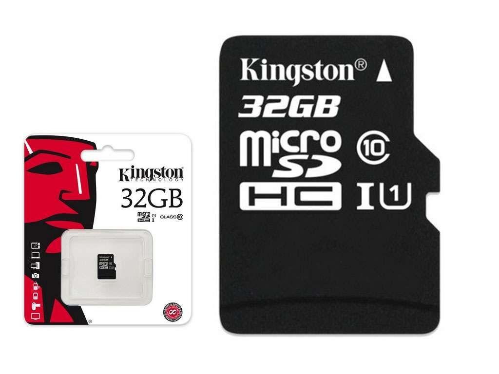 Карта памяти Kingston SD 32GB Class 10