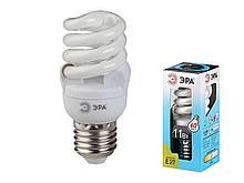 Лампа энергосберегающая ЭРА, 11 Вт (60 Вт) дневной свет
