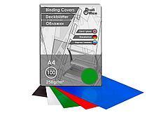 Обложка для переплета Profi Office, А4 картон глянец, 250 гр, зеленая