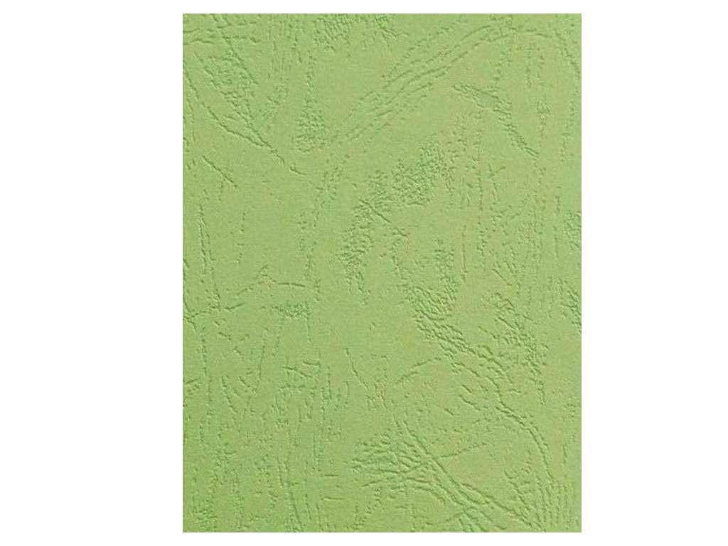 Обложка для переплета iBind, А4 картон под кожу, 230 гр, светло-зеленая