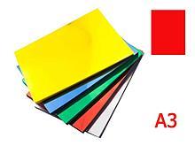 Обложка для переплета iBind, А3 пластиковая, 150 мкм, прозрачно-красная