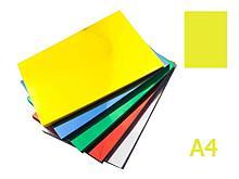 Обложка для переплета iBind, А4 пластиковая, 150 мкм, прозрачно-желтая