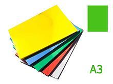 Обложка для переплета iBind, А3 пластиковая, 150 мкм, прозрачно-зеленая