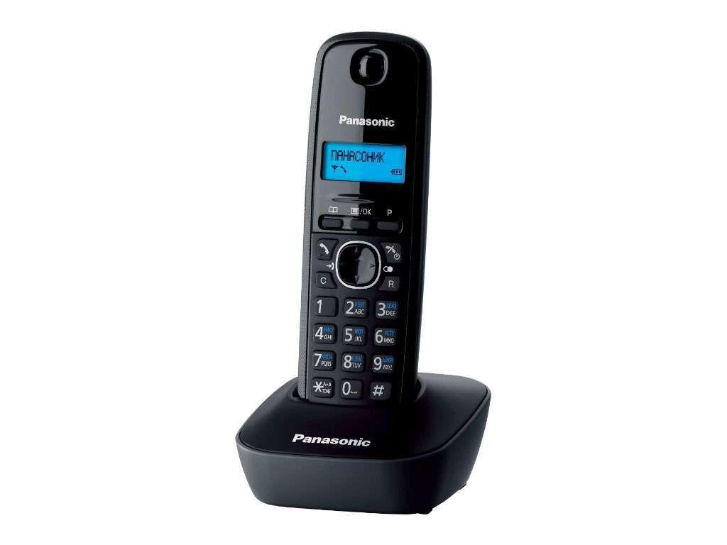 Радиотелефон Panasonic KX-TG1611 черный