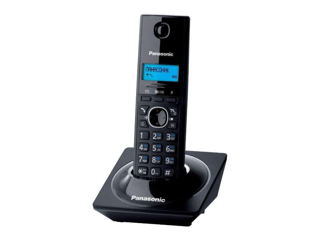 Радиотелефон Panasonic KX-TG1711 черный