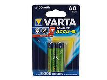 Аккумулятор Varta АА (пальчиковые) 2100 mAh (2 шт/упак)